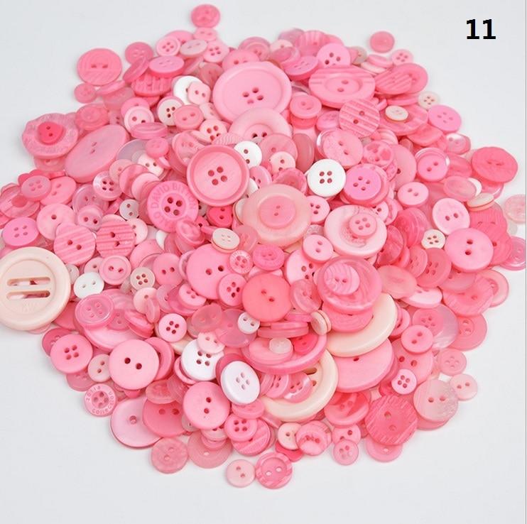 color dulce mixto 25 50 Tiny Baby Mini 6mm botones en forma de corazón Muñeca Craft
