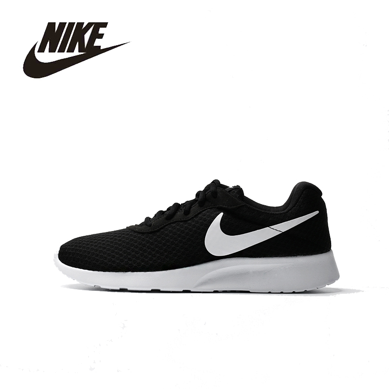 NIKE Original New Arrival Mens TANJUN Running Shoes Mesh Breathable Quick Dry  Light weight Outdoor For Men#812654-011 nike original 2016 new arrival hyperlive ep mens basketball shoes breathable professional sneakers for men 820284 011