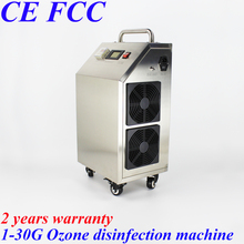 CE EMC LVD FCC Portable Movable high-end ozone disinfection machine water air sterilizer ozonizer air and water penjana ozon