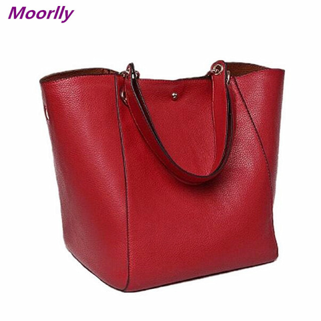 Moorlly Female Leather Bag Ladies Black crossbody Shoulder Bag ...