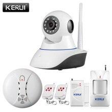 Kerui 720 P безопасности сети WI-FI IP мегапиксельная камера HD Беспроводной цифровой камеры безопасности ИК инфракрасный Ночное видение аварийная система