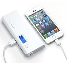 12000 mah Energienbank Dual USB Mobile Ladegerät External Battery Pack tragbare ladegerät power Für Telefon