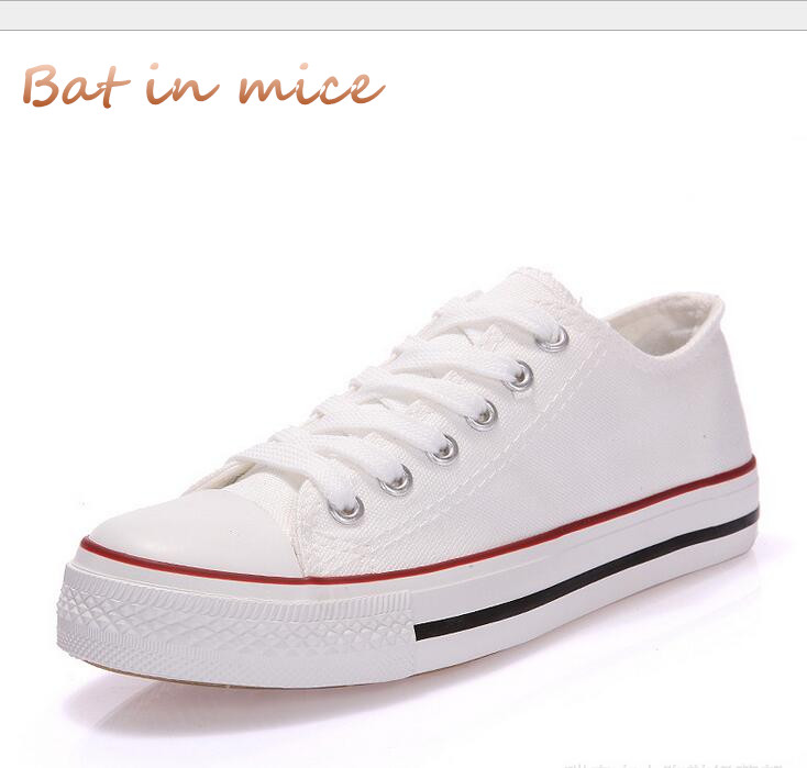2018 Spring Women Vulcanize Shoes Platform Breathable Canvas Shoes Woman Casual Flat Fashion Students Walking Lace-Up Shoes C130
