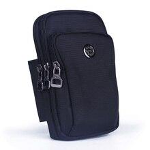 Высокое качество водостойкий нейлоновый унисекс поясная сумка сотовый мобильный чехол для телефона кошелек маленький кросс-боди плечевой ремень поясная сумка крюк сумка