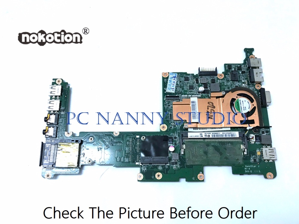 PCNANNY FOR Acer Aspire One D257 Laptop System Motherboard Atom N570 MBSFW06002 DA0ZE6MB6E0 DDR3  Tested