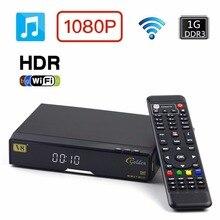 original official Genuine FREESAT V8 Golden & USB Wifi Satellite TV Combo Receiver Support PowerVu Biss Key Cccamd Newcamd Wifi