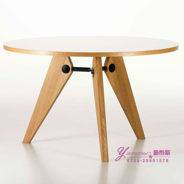 Fresco cabina mesa redonda de madera de ocio diseño de la mesa de ...