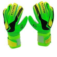 MAICCA Goalkeeper Gloves Soccer Professional  kids Children Football Finger Protection Soccer Football Latex Goalie Gloves цены онлайн