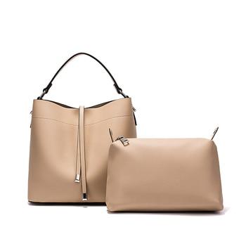 Miyaco Fashion Handbags Women PU Leather Bags Ladies Bucket Bag Totes Shoulder Bags Messenger bag New Style 2018