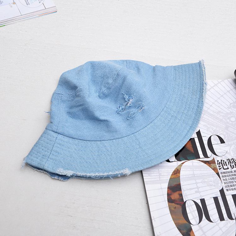 f7ee807a830 2018 Leisure Outdoor Cowboy Hole Do Old Fisherman Hat Men Women ...