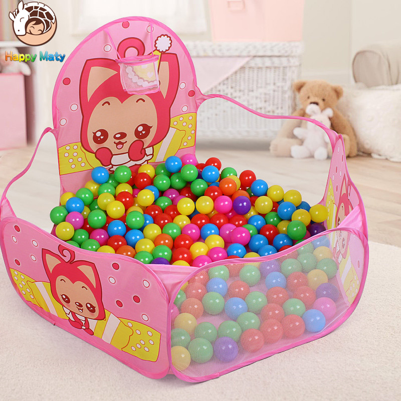 Play House Indoor and Outdoor Easy plegable Ocean Ball Pool Pit Game - Deportes y aire libre - foto 1