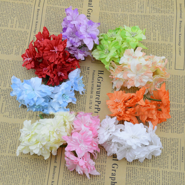 Artificial flowers specials fake flowers simulation butterfly cherry artificial flowers specials fake flowers simulation butterfly cherry silk flower wreath diy materials wholesale decorative flowe mightylinksfo