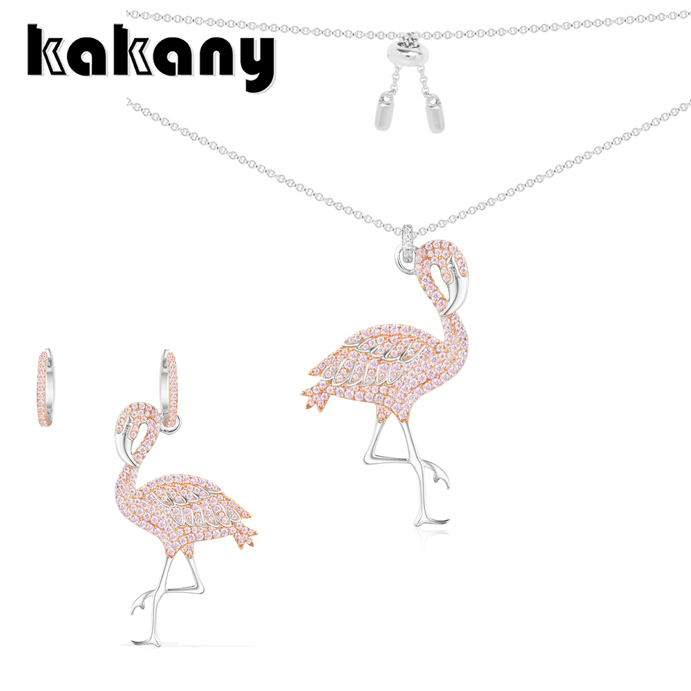 KAKANY Original 1:1 High Quality 925 Sterling Silver Flamingo Series Classic Moroccan Style European Womens Fashion JewelryKAKANY Original 1:1 High Quality 925 Sterling Silver Flamingo Series Classic Moroccan Style European Womens Fashion Jewelry