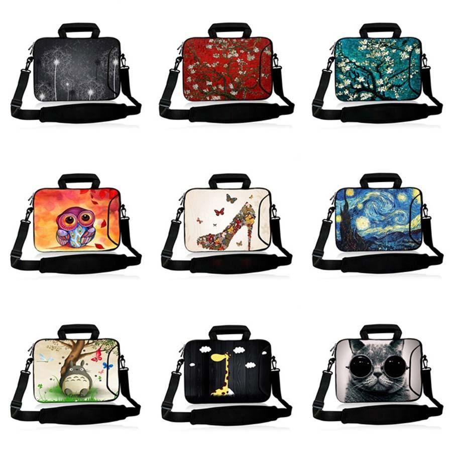 17 3 Laptop Shoulder Bag 15 6 14 13 3 Notebook Messenger sleeve 10 1 tablet case 12 3 Men Women Handbag for dell xps 13 SB 9373 in Laptop Bags Cases from Computer Office