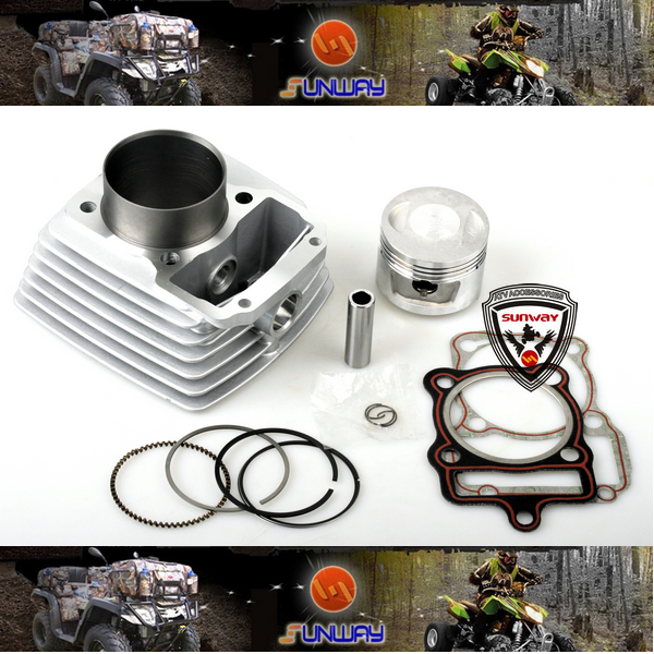 2014 New 150CC 62MM Big Bore Kit 14pcs Set for HONDA CG125 JD125 QJ125 XF125 GL125