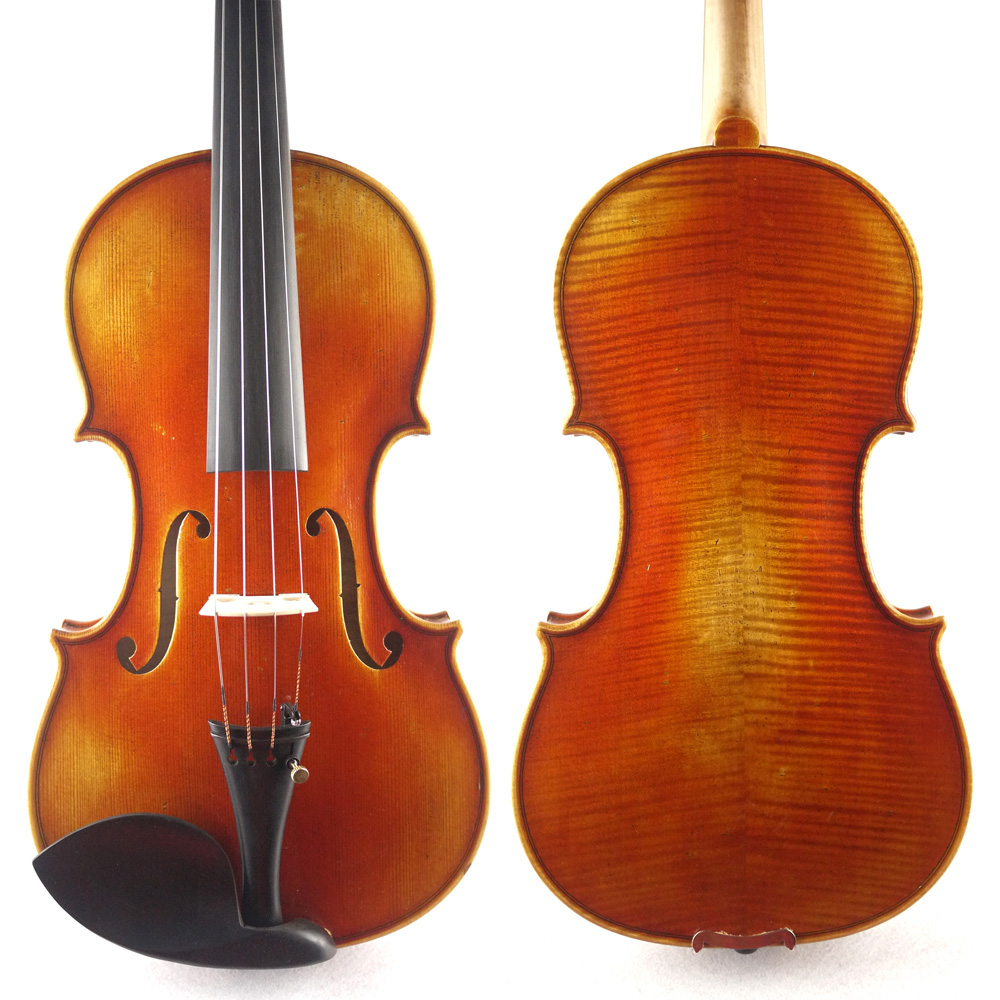 Handmade Antique Oil Varnish,Stradivarius 1716 Messiah  Copy ,Master Level  Violin, No 1293.European Spruce wood, Great setup master violin identity copy guarneri del gesuthe cannon1743 strong and deep tone free shipping aubert bridge no 3