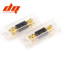 High Quality New ANL fuse box Fuse holder Distribution Fuseholder fuse holder blade INLINE 0 4 8 gauge Positive 100AMP 200A 300A стоимость