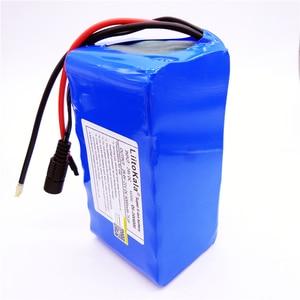 Image 4 - HK LiitoKala 24 V 6Ah 7S3P 18650 Lithium Ionen Batterie 29,4 V 6000 mAh Für Elektrische Fahrrad