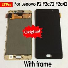 LTPro Оригинальный Новый ЖК-дисплей для lenovo Vibe P2 ЖК-дисплей Дисплей Сенсорный экран планшета в сборе с рамкой для lenovo P2 P2c72 P2a42 ЖК-дисплей
