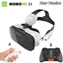 """Original Virtual Reality 3D Glasses Original bobovr Z4/ bobo vr Z4 Mini google cardboard VR Box 2.0 for 4.0""""-6.0"""" smartphone"""