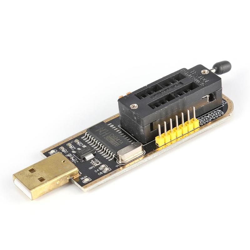 USB Programmer CH341A Series Burner Chip 24 EEPROM BIOS Writer 25 SPI Flash NJF