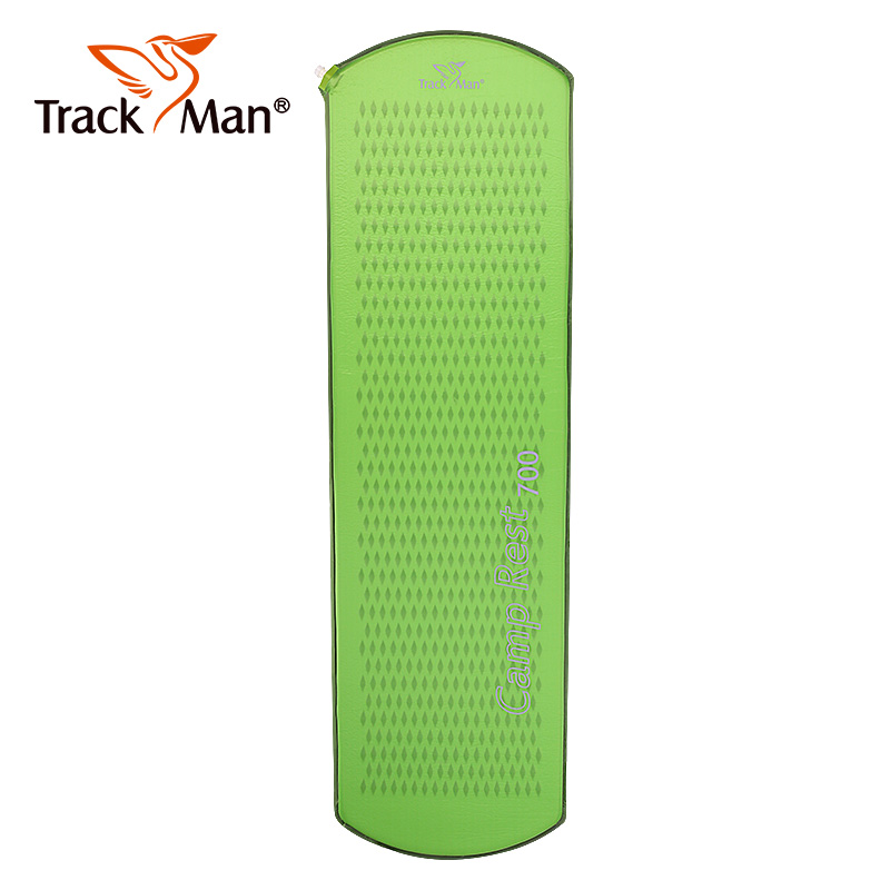 Trackman outdoor camping mat 1 Person Automatic inflatable Sleeping Pad Tent Mat Travel Ultra-light portable hiking 1 person pad