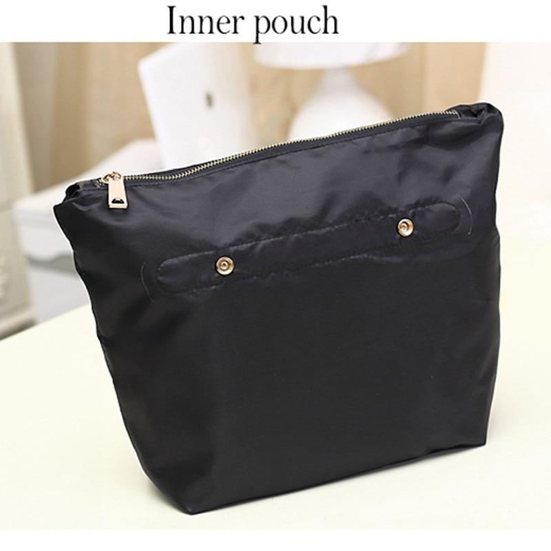 2017 modë Qese e zezë lëkure e zezë lëkure çanta për gratë - Çanta dore - Foto 6