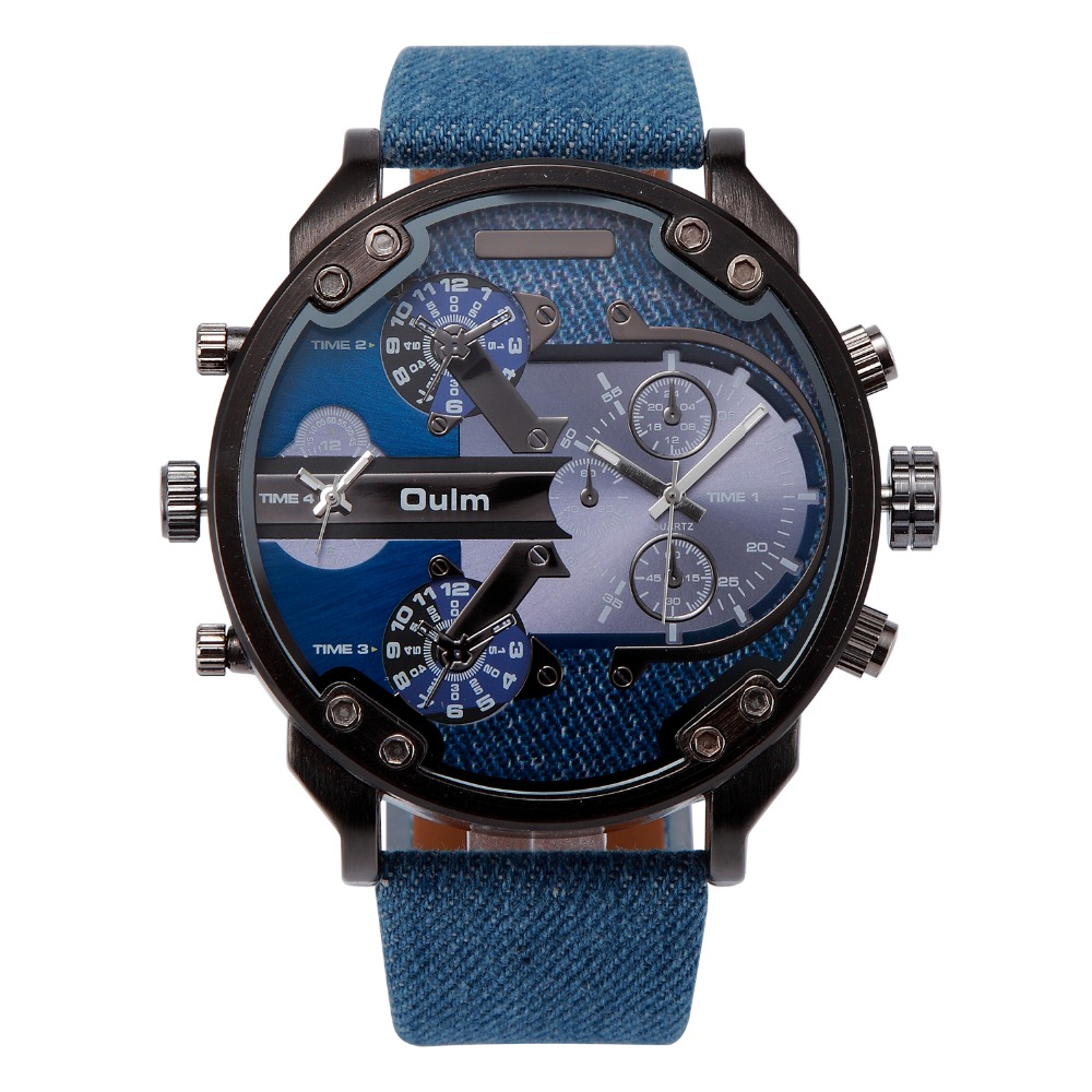 online get cheap techno sport watches aliexpress com alibaba group 2017 oulm brand luxury watch men cool cowboy sport navy marine military watches for men canvas
