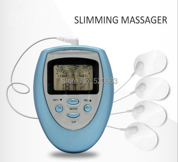 TENS UNIT / Slimming body Massager / Electrical Nerve Muscle Stimulator / Digital physical therapy massager machine some nerve