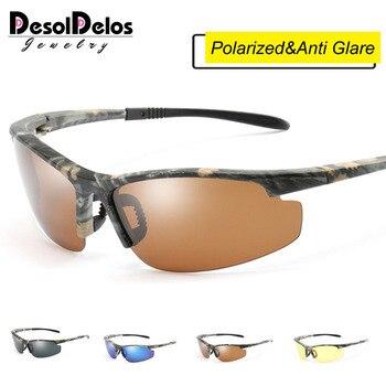 2019 Top Quality Polarized Sunglasses Men Camo Vintage Male Polaroid Sun Glasses for men De Sol Masculino Eyewear Accessories