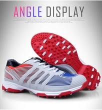 Новый PGM бренд Гольф обувь Мужская дышащая-обувь без застежки с двойной Лакированная обувь кроссовки