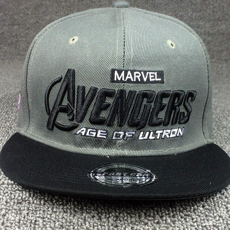2015 marvel avengers embroidery bone snapback cartoon iron