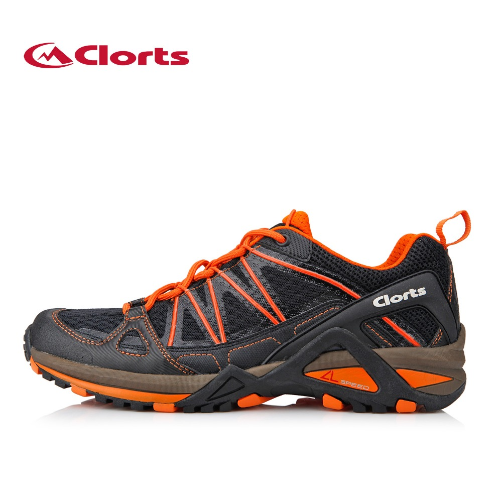 Clorts Running Shoes for Men Lightweight Sports Shoes Breathable Outdoor Running Sneakers 3F015A/B peak sport men outdoor bas basketball shoes medium cut breathable comfortable revolve tech sneakers athletic training boots