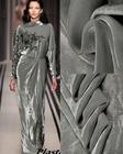 Telas Free Japan gray High Quality hollandais Lace Silk Fabric Sewing dress scarf Silk Velvet cotton Fabric tissus au metre