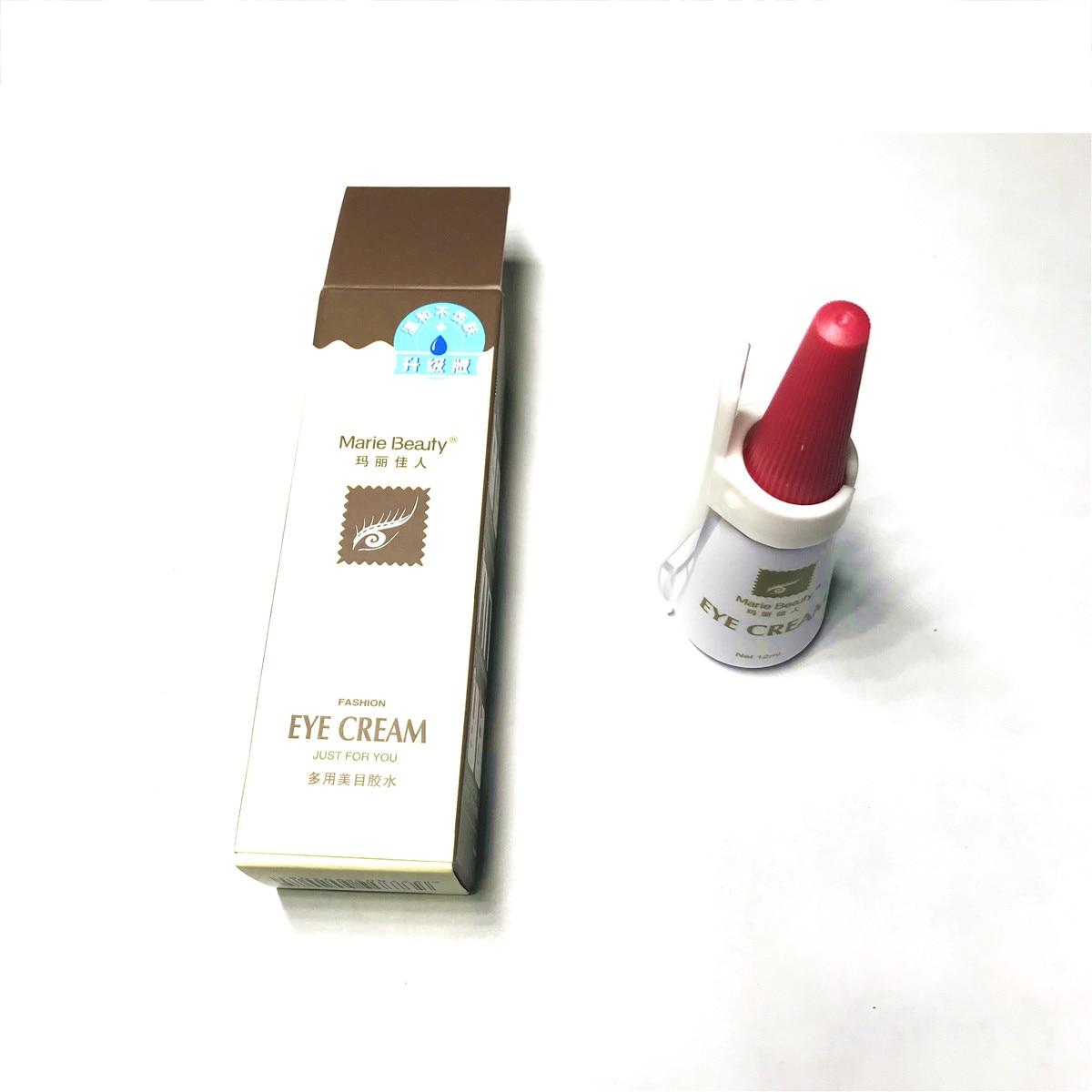 Two styles of eyelash glue, non toxic, non irritating, not ...