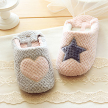 Cute Women Home Slippers Warm Winter Indoor House Shoes Bedroom Room For Guests Adults Girls Ladies Pink Soft Bottom Flats