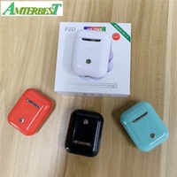 AMTERBEST I18 TWS Touch Mini Wireless Earbuds Pk W1 Chip 1:1 Bluetooth Headphone Wireless Earphone Headset I20 I10 TWS HBQ
