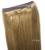 """16 """"-32"""" 100% Pelo Brasileño de Remy Flip En/sobre Halo de cabello Extensiones de Cabello Humano #10 ash brown 80g-220g 1 unids Conjunto"""