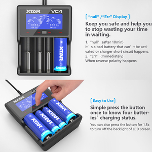 Image 5 - XTAR Battery Charger VC4S QC3.0 Fast Charging AA AAA Battery  20700 21700 18650 Battery Charger VC4S VS XTAR VC4 Charger