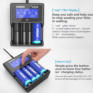 Image 5 - Зарядное устройство для аккумуляторов XTAR VC4S QC3.0, зарядное устройство для аккумуляторов AA AAA 20700 21700 18650 VC4S VS XTAR VC4