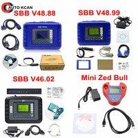 Smart Mini Zed Bull Transponder Chip SBB V48.99 SBB V48.88 SBB V46.02 Key Maker Mini Zedbull Auto Key Programmer