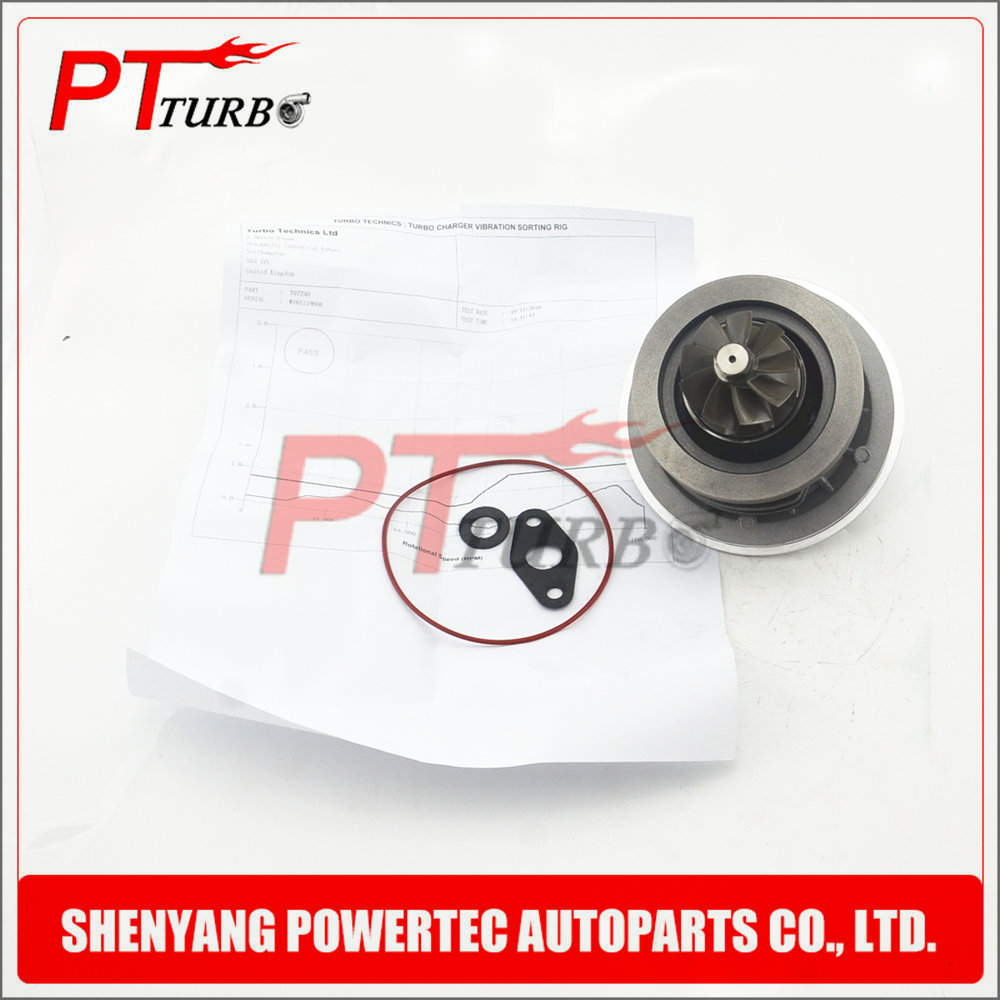 Auto parts Turbo Cartridge 707240 706006 for Peugeot 807 / Lancia Zeta Phedra 2.2 Hdi DW12TED4 95 Kw <font><b>129</b></font> <font><b>Hp</b></font> - NEW 707240 726683 image