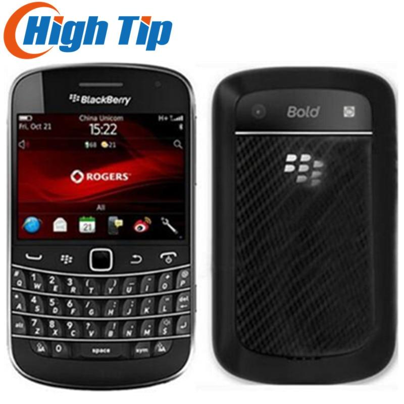Débloqué d'origine Blackberry gras Touch 9930 téléphone portable Wi-Fi GPS 5.0MP 8 GB mémoire interne 2.8