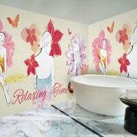 3D fototapety 3D moda salon masażu Joga Parowa Muzeum sypialnia salon hotelu tapety ścienne