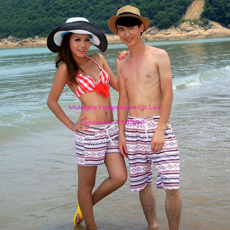 44f54d7799 Free Shipping!2012 Lovers' Clothing His and Her Clothes Board Shorts Quick  drying Beach Shorts,fashion beach pands on Aliexpress.com   Alibaba Group