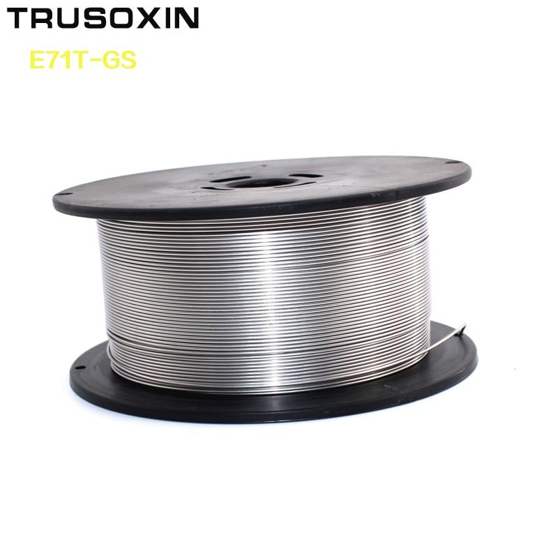 0.5Kg E71TGS Flux Cored Welding Wire/Solder Wire Self-protection 0.8mm/1.0mm Welding Machine Tools/Accessoies/Carbon steel Сварка
