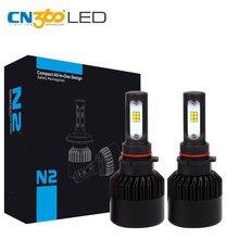 CN360 2 шт. PSX26 CSP чип светодиодный фар Водонепроницаемый фар авто супер яркий 8000LM Белый 12 В DRL противотуманных фар 72 Вт 6000 К