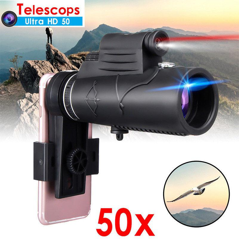 Group Vertical Monocular 50X60 Zoom Optical HD Lens Telescope For IPhone Samsung