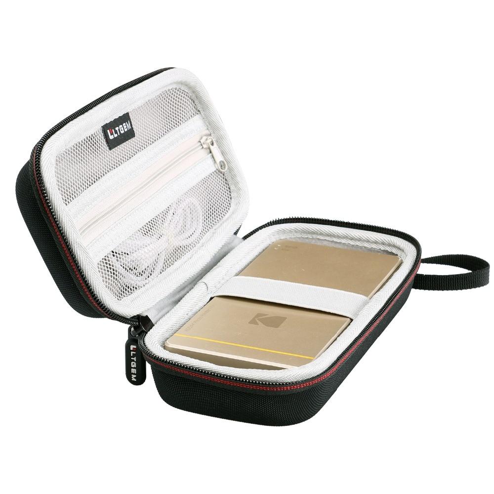 LTGEM Case For Kodak Mini Or Kodak Mini 2 Mobile Photo Printer-Black