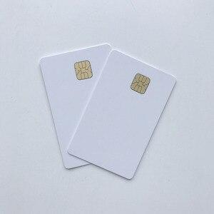 Image 3 - 50 개/몫 빈 잉크젯 인쇄 가능한 sle4428 칩 카드 연락처 pvc 카드 신용 카드 크기 인쇄 엡손 또는 캐논 잉크젯 프린터